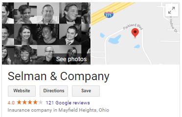 Selman & Company Google Rating 8_30_18