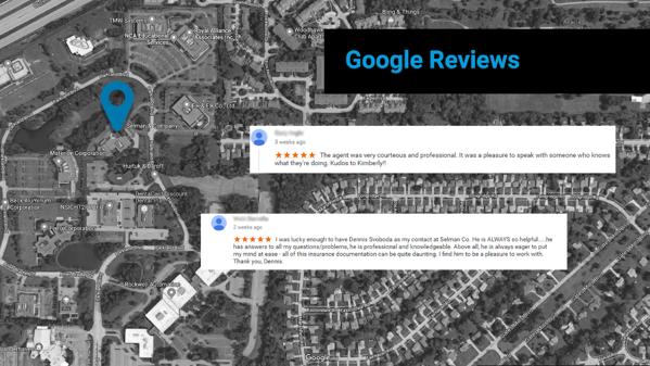 SelmanCo Google Reviews