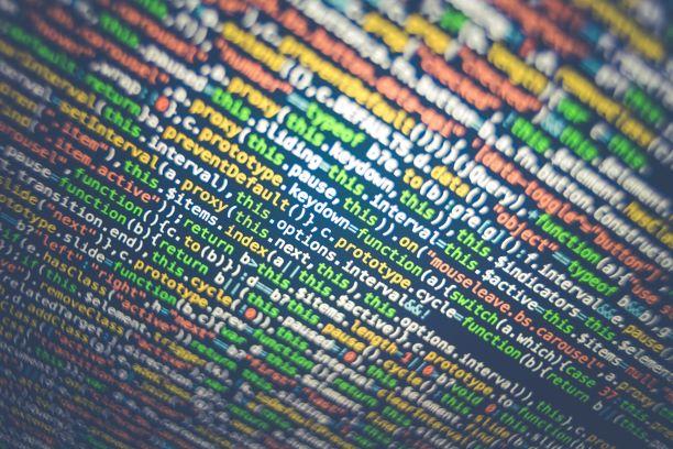 Multicolored HTML code